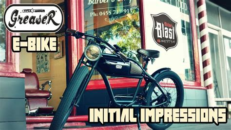 Greaser Electric Bike by Micheal Blast - Initial