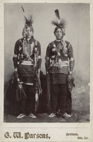 Native American Indian Pictures: Osage Sioux Indian Pictures