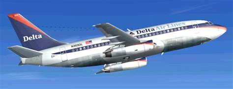Delta Airlines Boeing 737-200 for FS2004