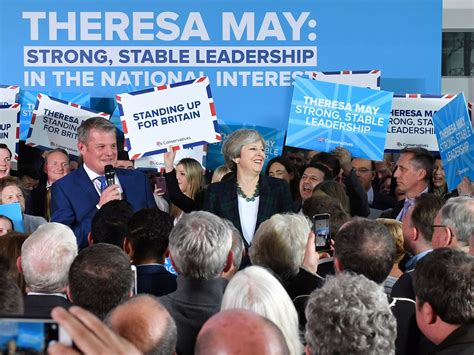 Tory election banners in the north of England don't have