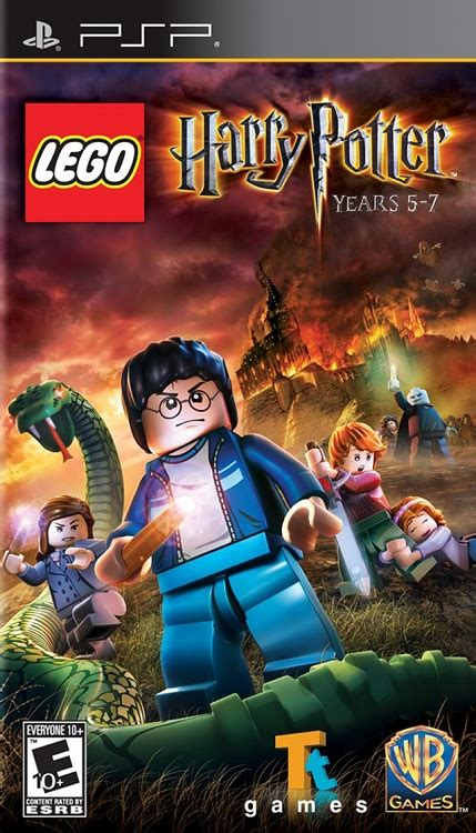 LEGO Harry Potter Years 5-7 PSP Game