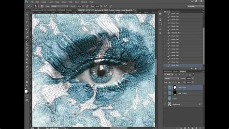 How to apply a realistic texture effect to a person in