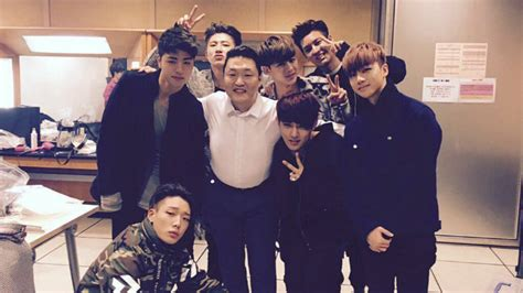 PSY produced a song for iKON's new album | SBS PopAsia