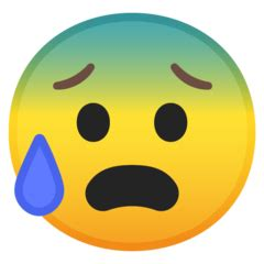 Anxious Face With Sweat Emoji — Meaning, Copy & Paste