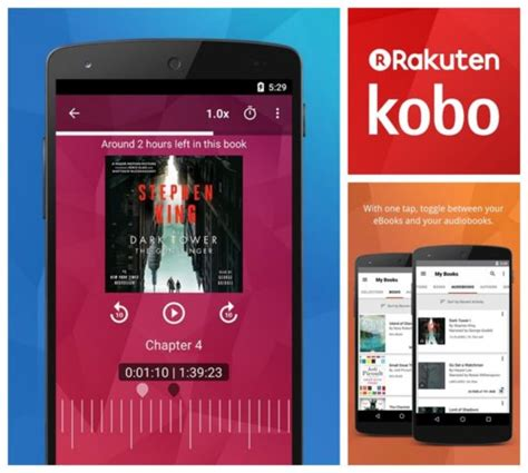 8 best audiobook apps you can use on your Android phone or