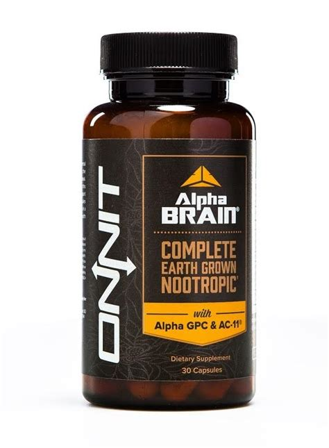 Alpha BRAIN®, Flagship Nootropic from Onnit™, XBrain