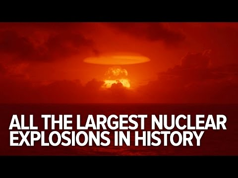 What would a nuclear blast look like in your town? [GRAPHIC]