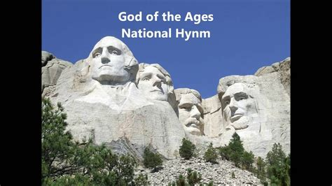 USA NATIONAL HYMN UNITED STATES God Of The Ages (Our
