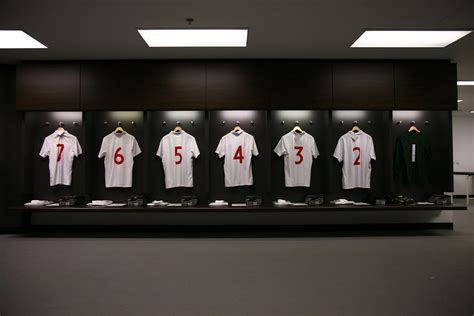 England Shirts in the Wembley Changing Rooms | Pictures