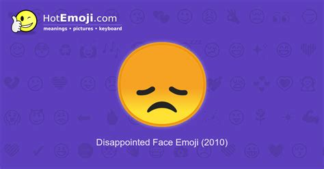 Sad Emoji Meaning with Pictures: from A to Z