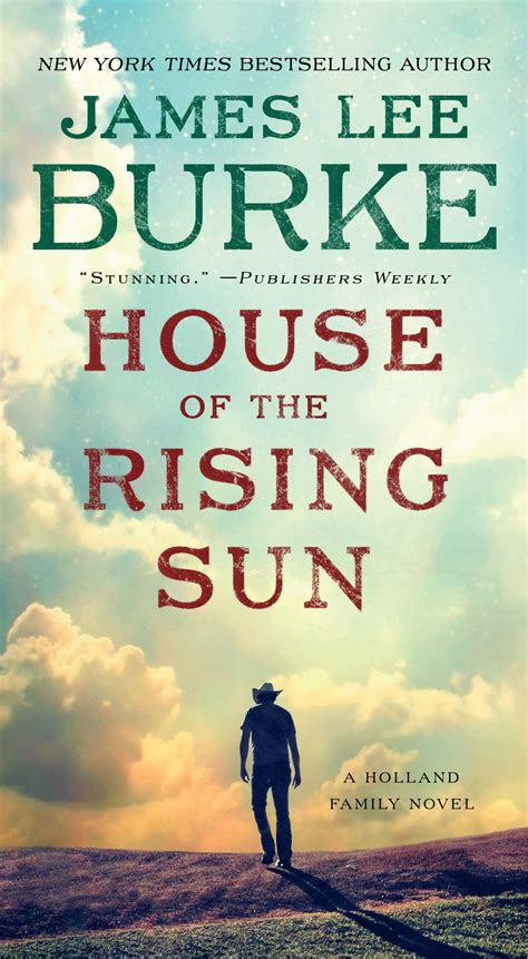 House of the Rising Sun   Book by James Lee Burke