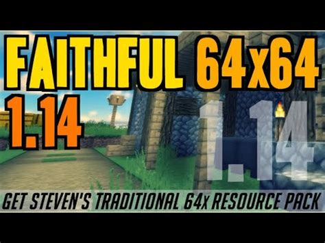 How to get Faithful Textures in Minecraft 1