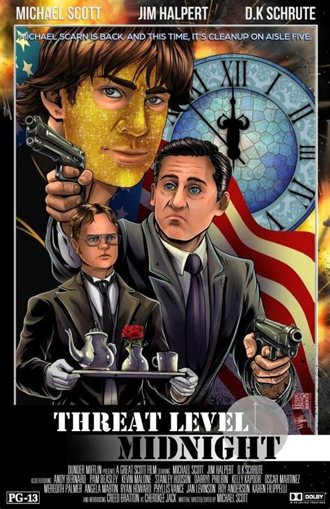 Threat Level Midnight • The Office (With images) | The