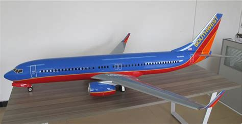 Boeing 737 Full composite /W 90mm Electric retract scale