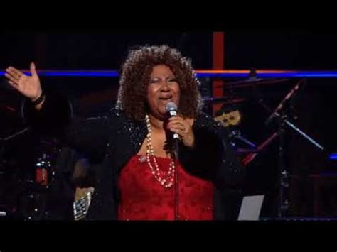 """Aretha Franklin Performs """"Don't Play That Song (You Lied"""