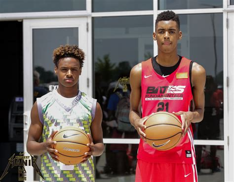 Bronny James Stands Out by Fitting in With Talented Blue