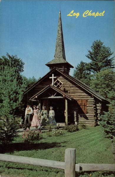 Log Chapel, Frontier Town Schroon Lake, NY