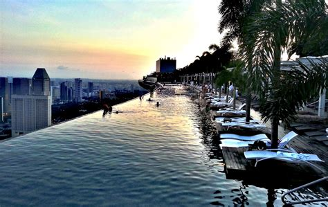 The Incredible Rooftop Pool In Singapore