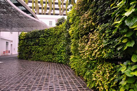 Elmich VGM Green Wall @ Rendezvous Hotel Singapore