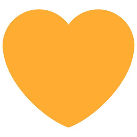 Orange Heart Emoji Meaning with Pictures: from A to Z