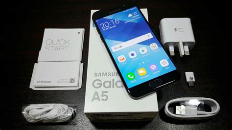 Samsung Galaxy A5 2017 Unboxing! - YouTube