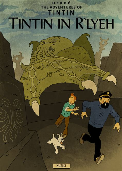 The Adventures of Tintin and the Horrific World of H