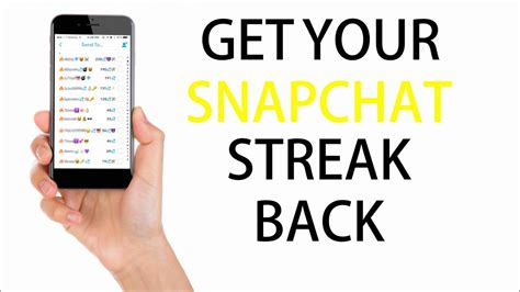 How to get Snapchat Streak Back After Losing it (Never