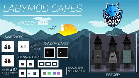 LabyMod Capes   100+ Capes - YouTube