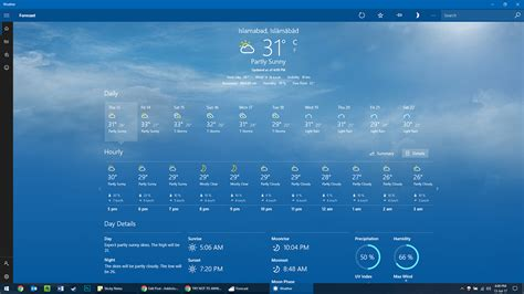6 Best Weather Apps For Windows 10